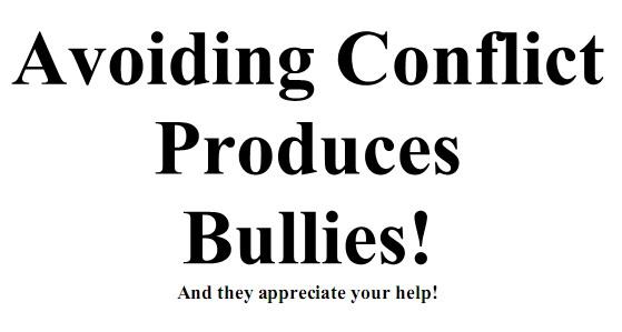 avoidingconflict