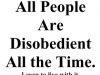 allpeoplearedisobedient
